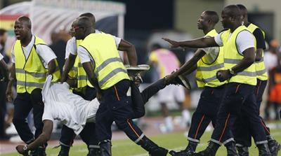 Madness in Malabo Stadium