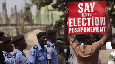 Nigeria vote delay upsets locals in Boko Haram areas