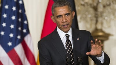 Obama says US considers sending weapons to Ukraine