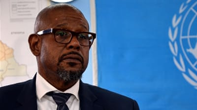 US actor Forest Whitaker on South Sudan food crisis