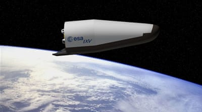 Europe to launch experimental wingless space plane
