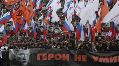 Mass rally held in Moscow to honour slain Putin critic