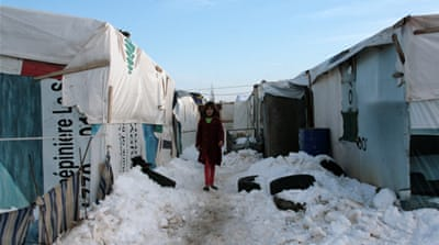According to UNHCR, some 81 percent of Syrian refugees in Lebanon rent their accommodation [Al Jazeera]