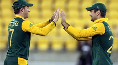 South Africa has experienced an inconsistent campaign but were still able to secure qualification for the last eight [Reuters]