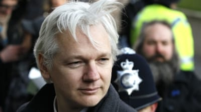 Julian Assange faces allegations by two women of rape and sexual assault, which he denies [AP]