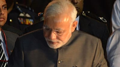 Narendra Modi will be the first Indian premier to hold bilateral talks in Colombo since 1987  [Reuters]