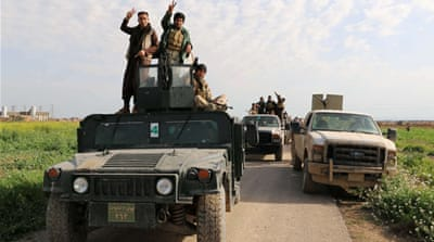 The campaign marks Iraq's biggest offensive to date against ISIL.[EPA]