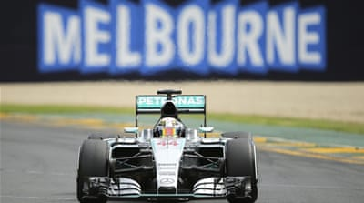 Hamilton has more pole positions in Melbourne than any other driver [AP]