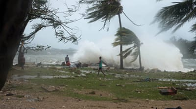 Reports suggest that most buildings in Vanuatu's capital, Port Vila have been damaged or destroyed [EPA]