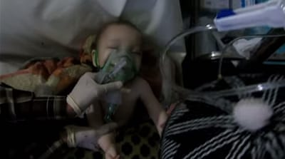 Syria chlorine gas attack evidence of 'fresh war crime'