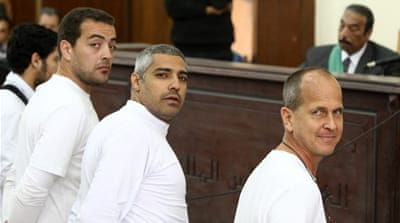 Ten previous sessions in the Egyptian court have all been adjourned [File: Reuters]