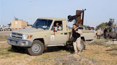 Brigade 166 was posted to Sirte's outskirts to expel ISIL from government buildings. [Al Jazeera]