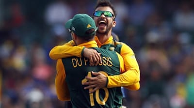 Duminy took his maiden ODI hat-trick earlier in the day [Reuters]