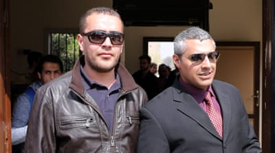 Both Mohamed, left, and Fahmy have strenuously rejected the charges levelled against them [AP]