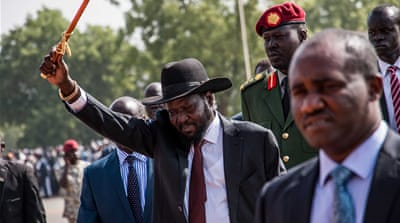 Thousands gather at Salva Kiir rally in South Sudan