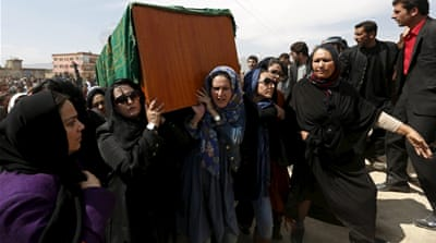 Afghan women and their horror