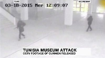 Tunisia airs video of gunmen in Bardo museum attack