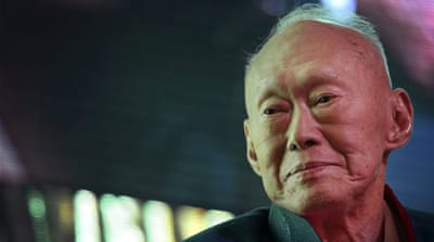 Singapore's founding father Lee Kuan Yew dies aged 91
