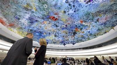 The US was also absent from Monday's discussions at the UN agency [Getty Images]