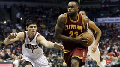 The defeat against the Cavaliers was Milwaukee's sixth straight loss [AP]