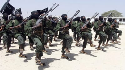 Somali military officials said clashes started when al-Shabab fighters attacked two towns in southern Somalia [AP]