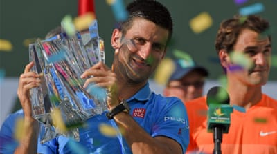 Djokovic won this event in 2008, 2011 and 2014 as well [AP]