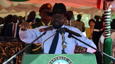 The opposition says the move was meant to keep Kiir firmly in power [Reuters]