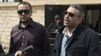 The journalists and Al Jazeera have vigorously denied the accusations, saying they were just doing their jobs [Reuters]