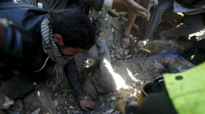 Iran warns of bloodshed as Saudi-led forces bomb Yemen