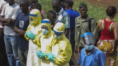 Ebola has infected nearly 12,000 people in Sierra Leone, more than in any other country in the West African region [EPA]