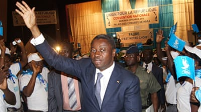 Opposition parties say thousands of people who have registered twice are likely to vote for President Faure Gnassingbe [AFP]