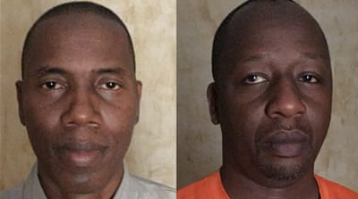 Ahmed Idris and Ali Mustapha have now completed the journey back to Al Jazeera's bureau in Abuja [Al Jazeera]