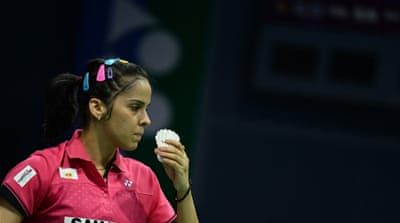 Nehwal won bronze at the 2012 London Games [Getty Images]