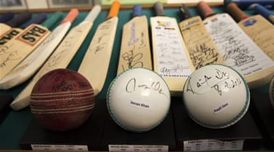 Preserving cricket's history in a Dubai backyard