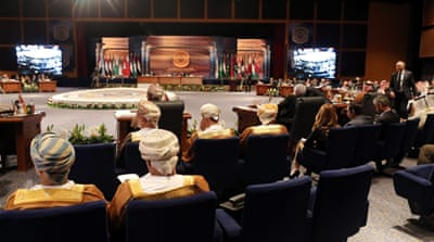 A general view of delegates attending the closing session of the Arab League summit, in Sharm el-Sheikh, Egypt [EPA]