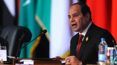 Sisi said a panel will work under the supervision of chiefs of staff to work out the structure and mechanism of the force [AP]