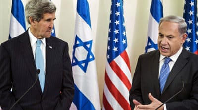 Kerry was referring to nuclear energy for civilian use and not the 'arsenal of nuclear weapons' as said by Netanyahu [AP]