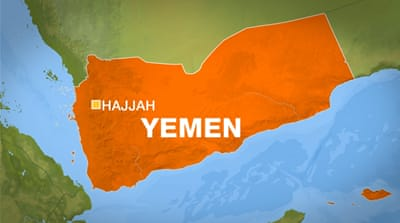 Many dead in 'airstrike on refugee camp' in north Yemen