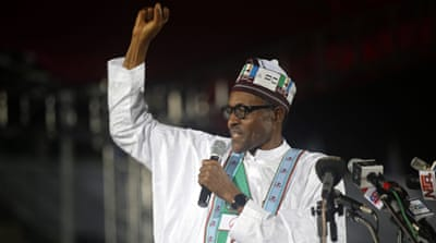 The 72-year-old Buhari built an early lead in northern state [AP]