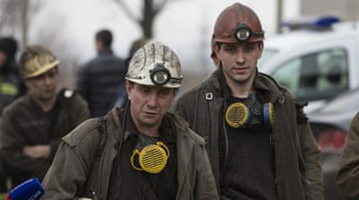 Dozens feared dead in Ukraine mine blast