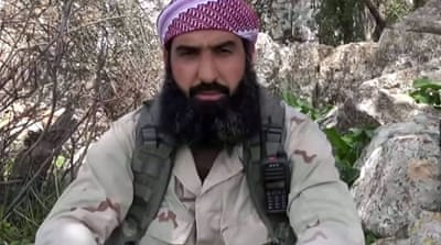 Al-Shami, a veteran al-Qaeda leader from Damascus, held the title of general military commander for al-Nusra Front [Youtube]
