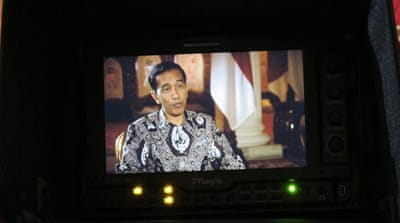 Widodo told Al Jazeera that he was not swayed by the nationality of convicts on death row [Syarina Hasibuan/Al Jazeera]