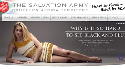 The Salvation Army website said that within a few hours of its publication more than 16 million people had seen the ad [Salvation Army]