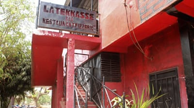 The attack on the popular restaurant La Terrasse left a Frenchman, a Belgian and three Malians dead [Reuters]