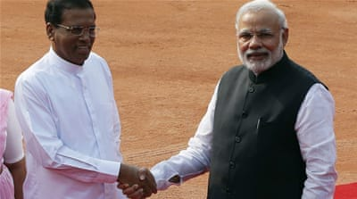 Sri Lanka seeks to mend ties with India