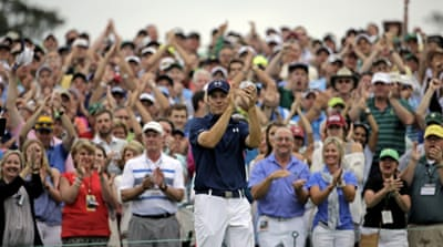 Spieth is the second youngest Masters champion [AP]
