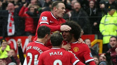 United are now four points clear of City in third place [Getty Images]