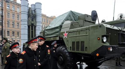 The S-300 missile system is one of the most potent air defence weapons in the world [AFP]