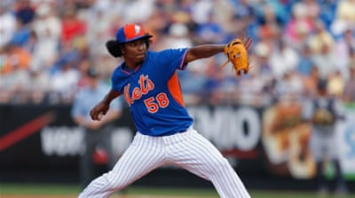 Mejia is the third pitcher from the Dominican Republic to be slapped with an 80-game ban [Getty Images]