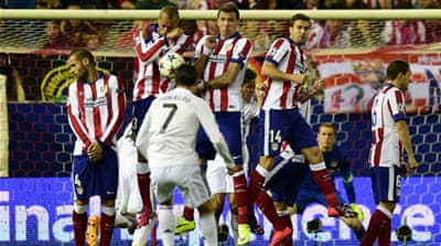 Atletico and Real had both topped their groups [Getty Images]